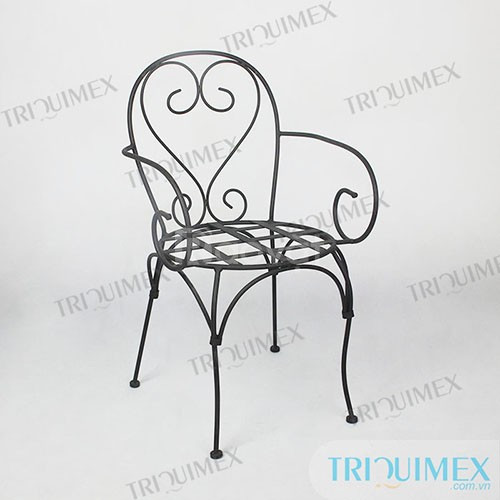 Ghế cafe đẹp lãng mạn bằng sắt