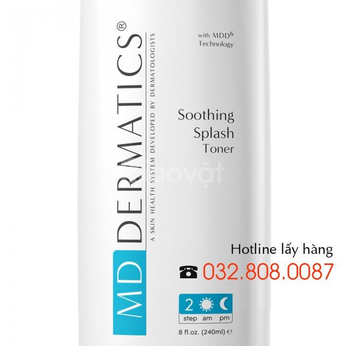 Nước hoa hồng Soothing Splash Toner Md Dermatics