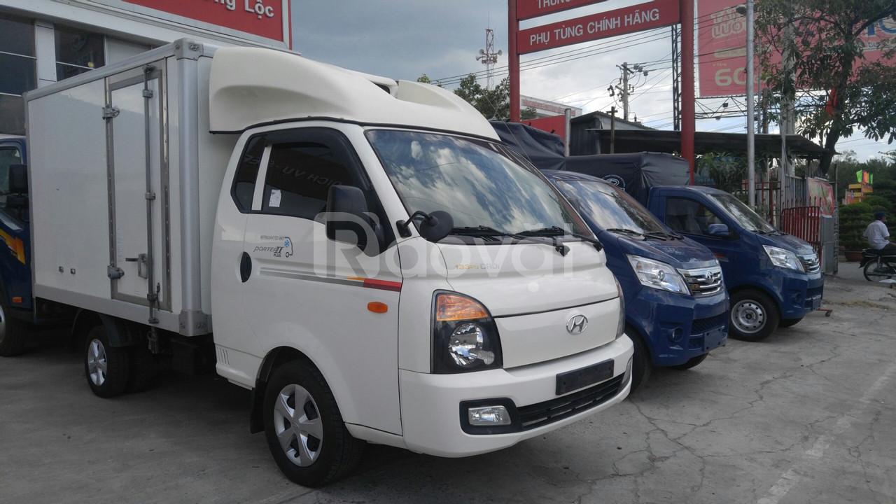 Xe tải 1 tấn Huyndai Porter II đông lạnh nhập Hàn Quốc đời 2015