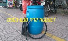 Thùng phi nhựa 50L - chuyên bán các loại thùng phi nhựa 100L