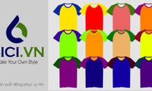 4 mẫu áo thun đồng phục phổ biến