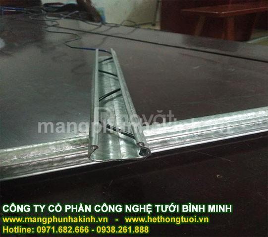 Thanh nẹp nhà kính, chuyên cung cấp nẹp cài zigzag cho nhà  kính