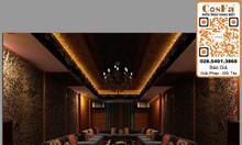 Dùng đá xuyên sáng CosFa trong thiết kế phòng karaoke