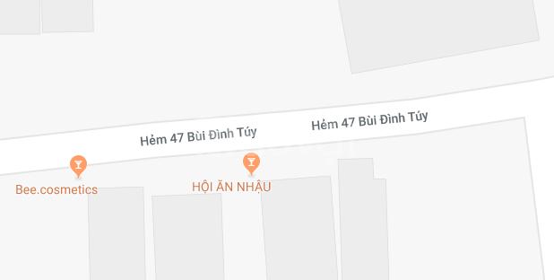 Chính chủ cần bán nhà hẻm xe tải 1 trệt 1 lầu Bùi Đình Túy, phường 24