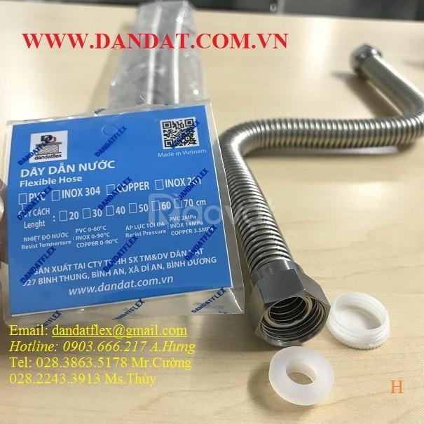 Sản xuất chuyên về dây  cấp nước bình nóng lạnh, dây dẫn nước inox