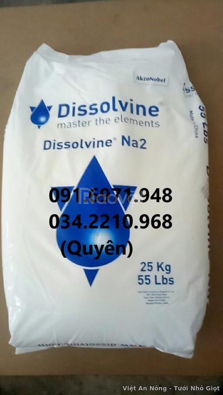 Nơi mua bán Dissolvine Na2 EDTA 2 muối Hà Lan dạng bột uy tín, giá tốt