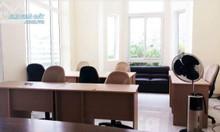 Cho thuê văn phòng, full nội thất, HXH 128 Phạm Văn Hai