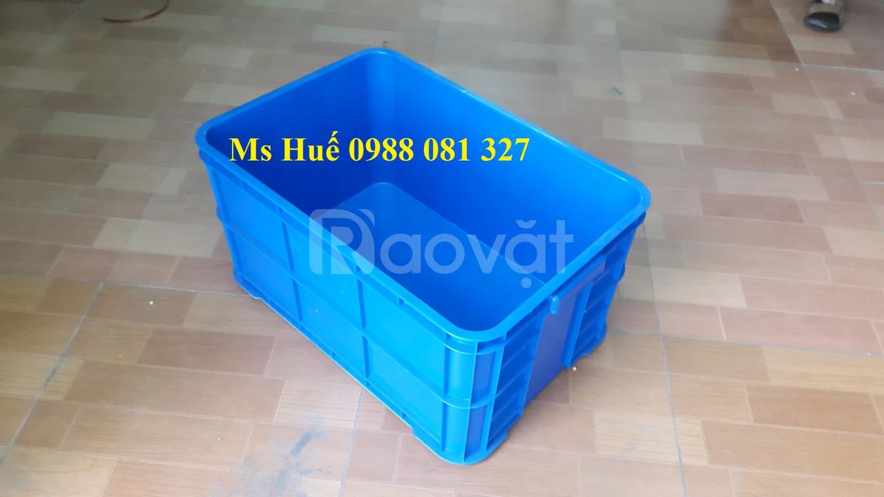 Thùng nhựa công nghiệp, thùng nhựa đặc, sóng nhựa bít
