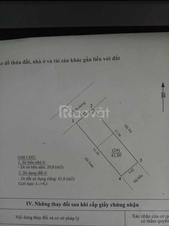 Bán nhà đẹp 42m một trệt 1 lầu Giáp Bát, cách bến xe Giáp Bát 2km