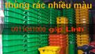 Quận 6: Bán thùng rác nhựa HDPE 120L, 240L,.. chính hãng giá tốt (ảnh 1)