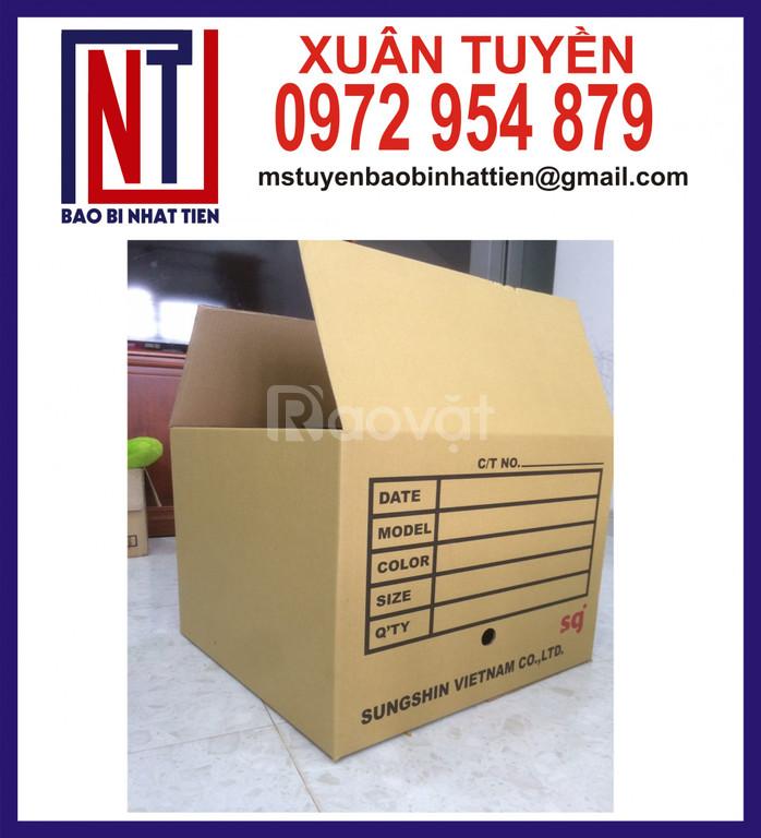 Địa chỉ sản xuất thùng carton giá tốt
