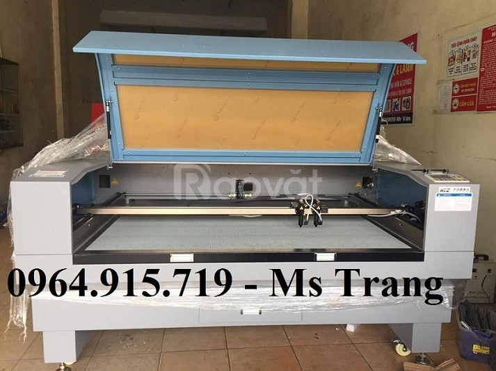 Máy cắt vải laser 1610 - 2 đầu phổ biến