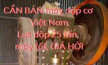 Cần bán máy dập cơ Việt Nam