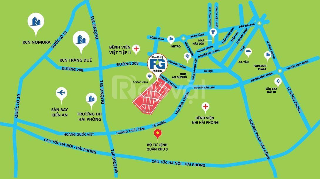 Mở bán đất nền biệt thự PG An Đồng - giá shock
