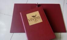 Xưởng sản xuất menu, nơi sản xuất sổ tay, bìa đựng hồ sơ