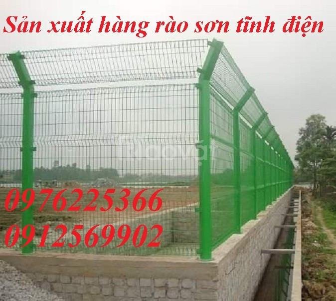 Lưới hàng rào D5a50x150, D5a50x200 sơn tĩnh điện