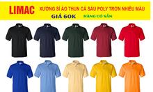 Xưởng may áo thun polo làm đồng phục
