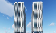 1.500m2 x 2 tầng khối đế tòa nhà HH mới 90 Nguyễn Tuân