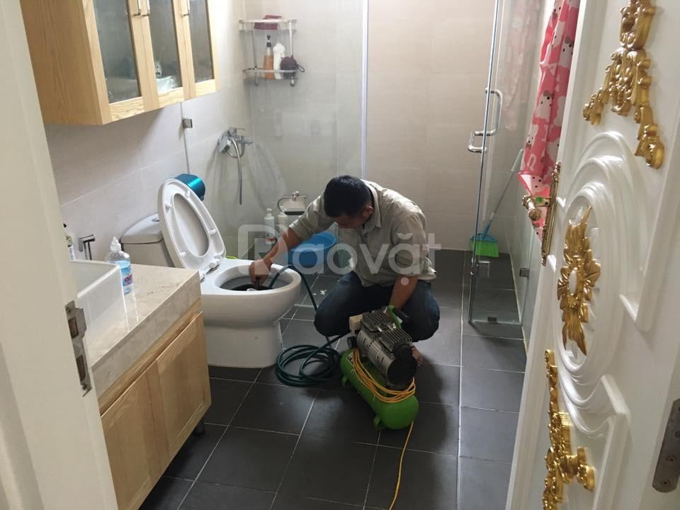 Thông tắc nhà vệ sinh chậu rửa bát tại Kim Mã