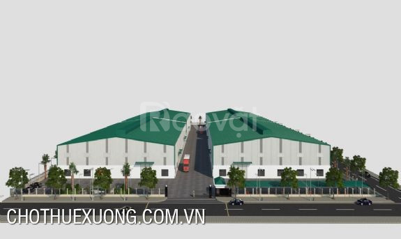 Cho thuê nhà xưởng khu công nghiệp Quế Võ 2 Bắc Ninh
