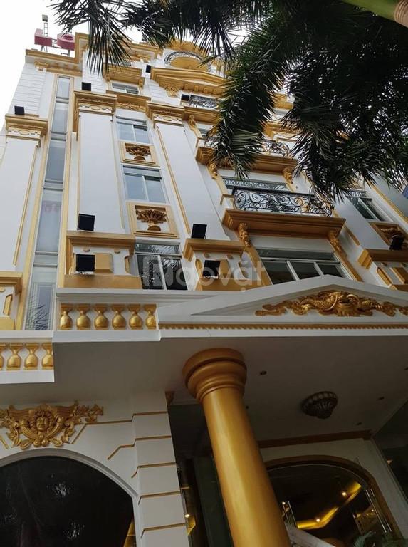 Tòa nhà 2 mặt tiền sầm uất 5000m2, đất 1.022m2, 9 tầng