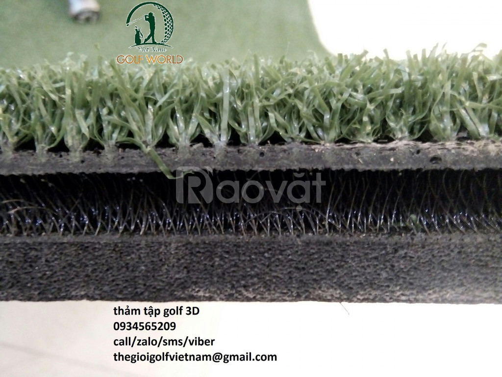 Thảm tập golf 3d nhập khẩu
