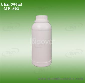 Chai nhựa 1l, can nhựa 2l, thùng nhựa 5l, chai nhựa