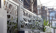 Gia công, thi công trọn gói hàng rào sắt nghệ thuật, sơn Epoxy cao cấp