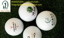 In logo lên bóng golf, tee golf làm quà tặng và mở giải đấu