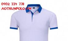 Mẫu áo thun đồng phục trắng đẹp dành cho nam áo thun trắng vải mè in