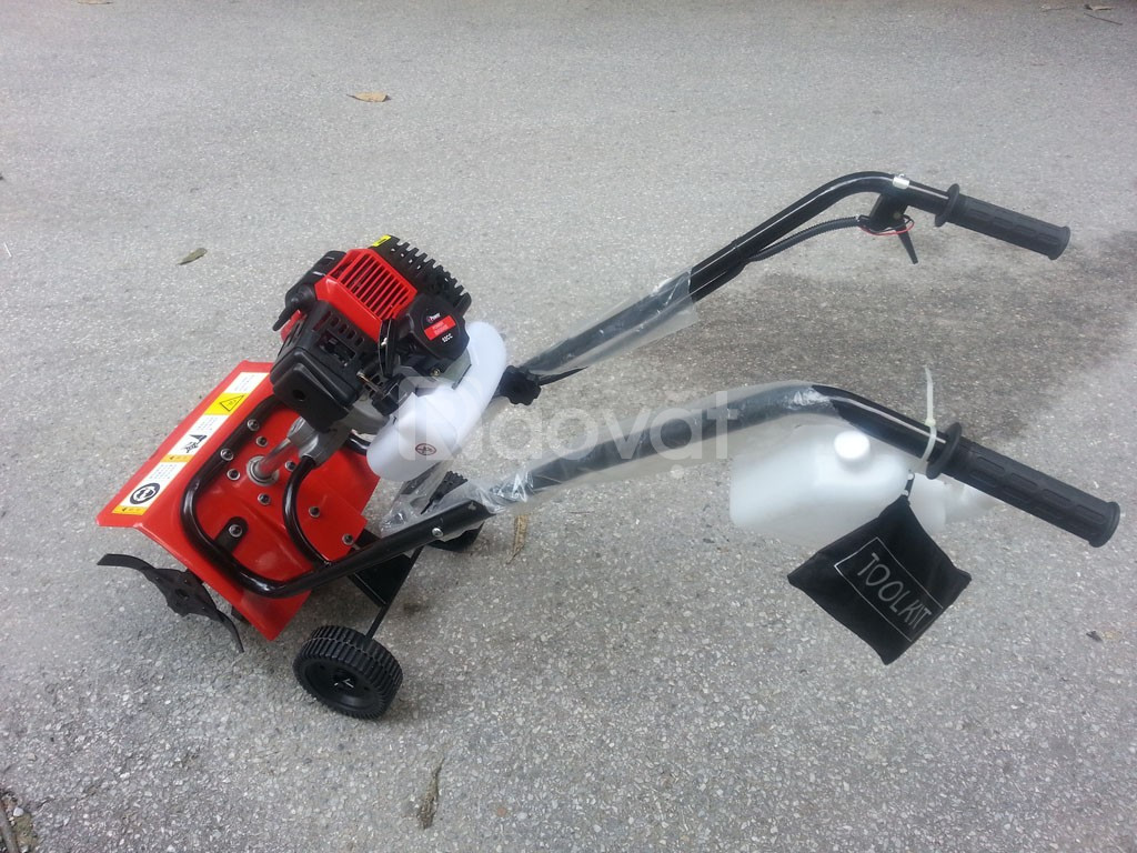 Máy xạc cỏ đẩy tay làm cỏ vườn, xới đất mini giá rẻ