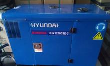 Máy phát điện Hyundai nhập khẩu 10kw chạy dầu vỏ chống ồn