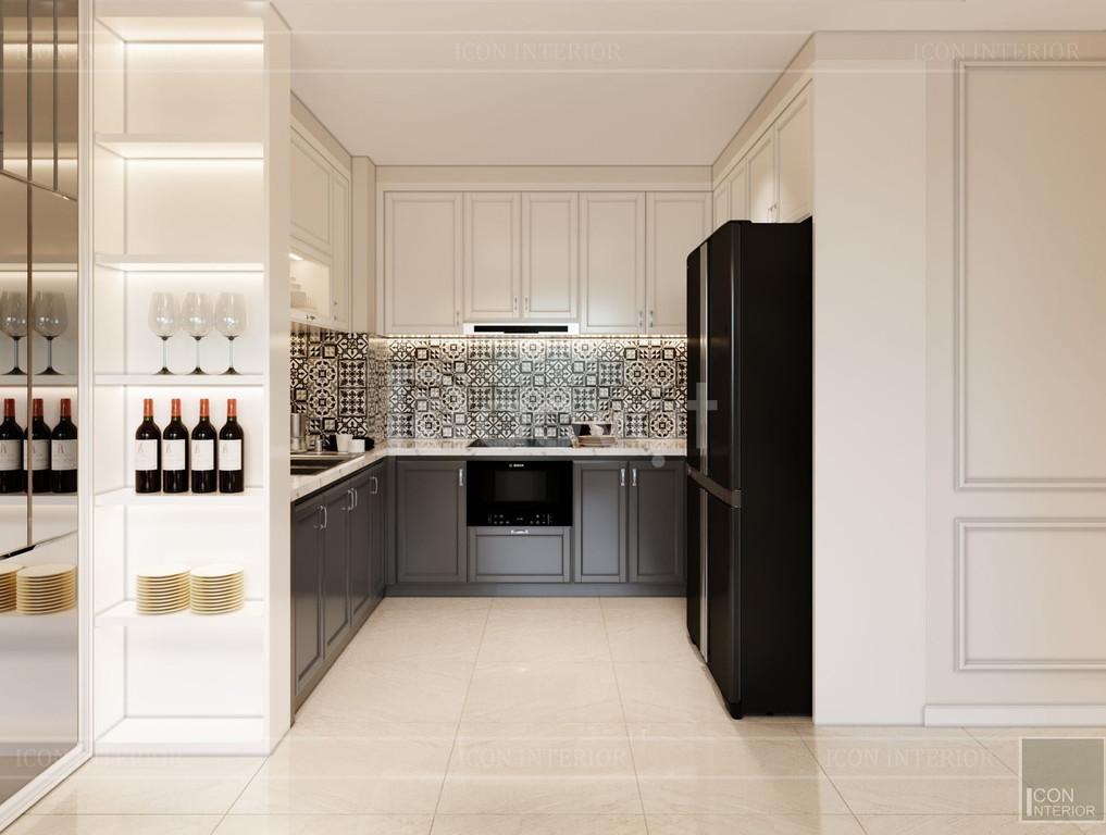 Thiết kế nội thất tân cổ điển sang trọng căn hộ Golden Manson (ảnh 2)