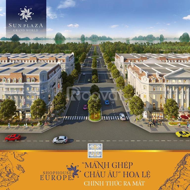 Bán suất ngoại giao dự án shophouse Euro mặt đường Hạ Long, Quảng Ninh