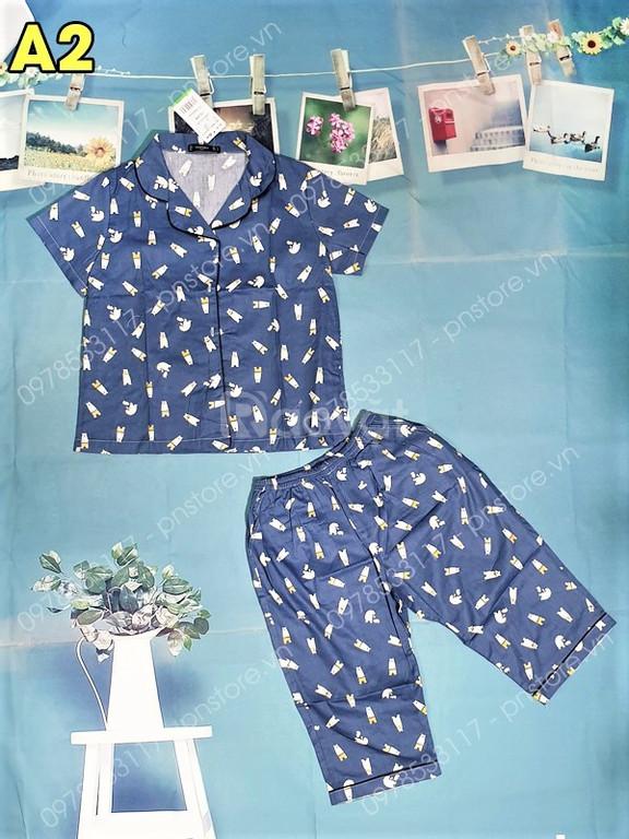 Đồ bộ mặc nhà Pijama cao cấp hiệu Mango - PNA02