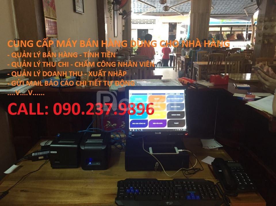 Bán máy tính tiền pos cho nhà hàng quán bar tại Gò Vấp