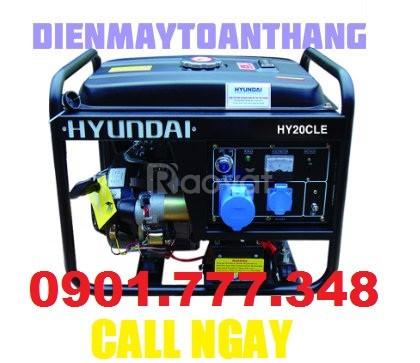 Máy phát điện Hyundai HY20CLE 1.7KW