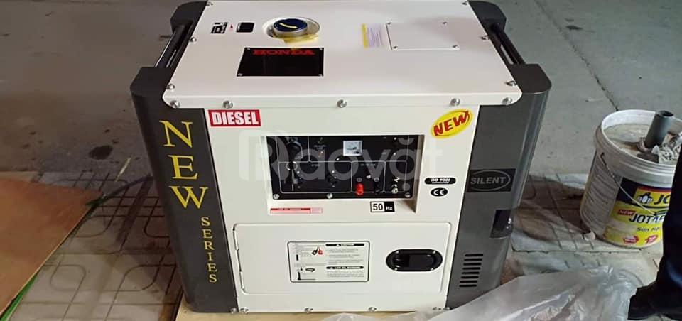 Báo giá máy phát điện Honda Thái chạy dầu chống ồn 5kw, 7kw