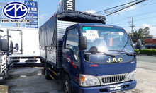 Bán xe tải JAC 2 tấn 4 thùng dài 3m7 - hỗ trợ vay mua 80%