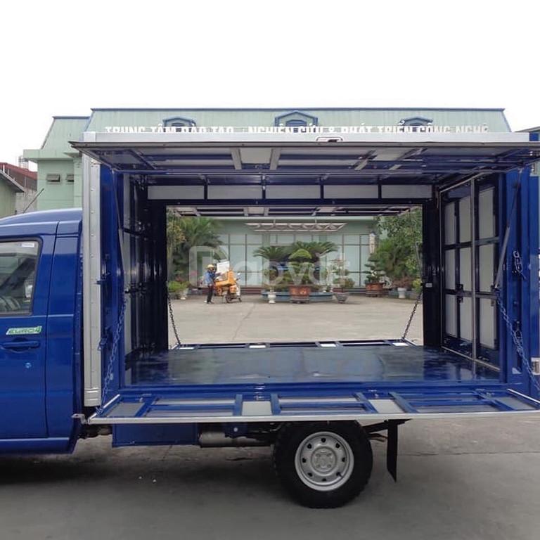 Xe tải kenbo 900k thùng kín cánh dơi