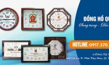 Đặt đồng hồ quảng cáo, đồng hồ treo tường theo yêu cầu