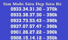 Sim mobi giá rẻ sim trả trước đầu 09 dạng taxi