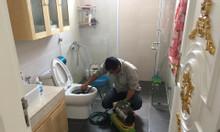 Thông tắc nhà vệ sinh bể phốt chậu rửa tại Phường Phúc Xá Ba Đình