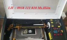 Máy laser 3020 cắt khắc mica , gỗ giá rẻ