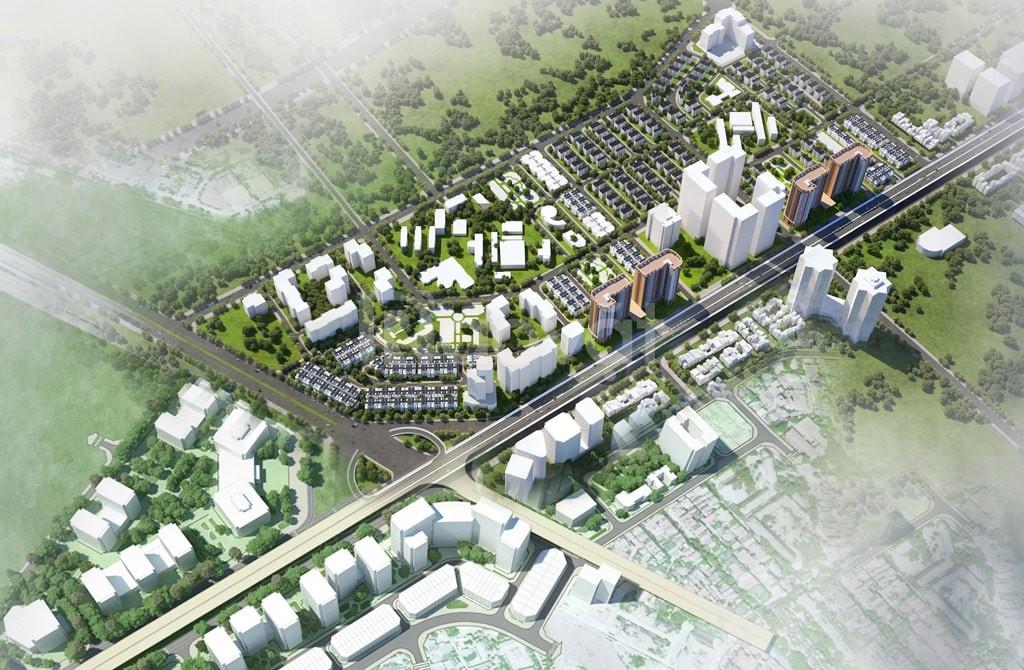 Bán nhà phố dự án mặt đường Nguyễn Xiển
