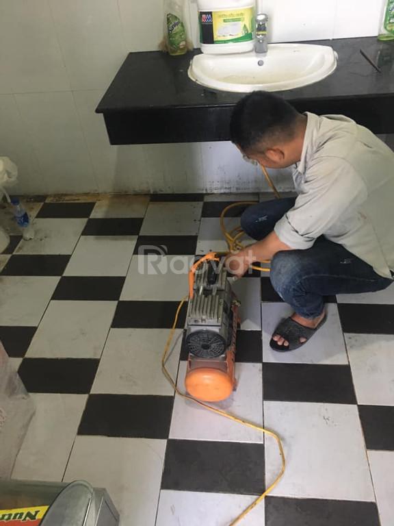 Thông tắc cống ngầm chậu rửa bát tại phường Quán Thánh Ba Đình
