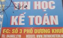 Học Autocad 2D khu vực Đông Anh, Sóc Sơn