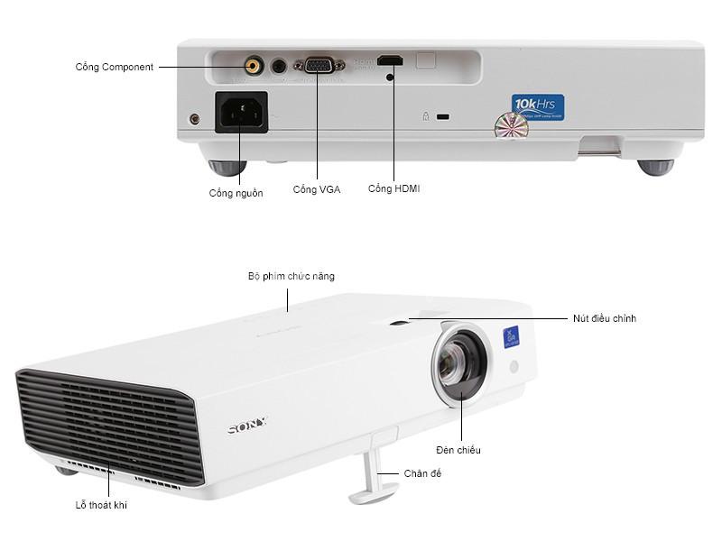 Máy chiếu Sony VPL-DX102 chất lượng cao hàng có sẵn