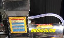 Máy xay vắt tinh bột nghệ liên hoàn Inox động cơ 2,2KW