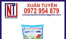 Bao bì gạo 1kg giá rẻ